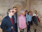 عمدة باليرمو يستقبل زاهى حواس ويشيد بجهود الحكومة المصرية فى حفظ التراث