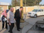 حياة كريمة.. رئيس مياه الغربية يتابع تنفيذ مشروعات قرى زفتى