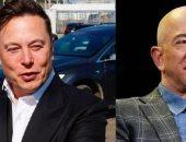 إيلون ماسك يتجاوز جيف بيزوس في سباق صدارة أغنى شخص بالعالم برصيد 222 مليار دولار