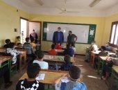 مدير تعليم المنوفية يتفقد انتظام الدراسة بمدارس شبين الكوم والباجور