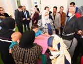وزيرة التضامن توجه بتوفير الرعاية لأطفال حى الأسمرات