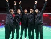 مصر تهزم تاهيتي وتحقق أول فوز تاريخى ببطولة العالم لسيدات الريشة الطائرة
