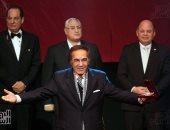 رفع الستار عن تمثال الفنان محمود ياسين باحتفالات العيد القومى لبورسعيد