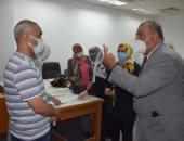 الانتهاء من تطعيم نحو 70 ألف من طلاب جامعة حلوان بلقاح كورونا
