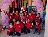 قارئ يشارك بصور لمدرسة حكومية ببنى سويف تنافس الخاصة في نظافتها وأنشطتها