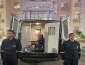 الداخلية تدفع بسيارات إغاثة مجهزة بالطرق والمحاور الرئيسية