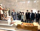 رئيس الجمعية الوطنية بجمهورية كوريا الجنوبية يزور متحف الحضارة ومجمع الأديان