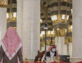 المسجد النبوى يُضيف 10 كاميرات حرارية ضمن جاهزية استقبال الزوار والمصلين.. صور