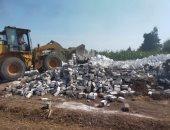 إزالة 207 حالات تعدى بالمبانى على أراضى بالدقهلية والبحيرة.. صور