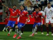 منتخب تشيلى يدمر شباك فنزويلا بثلاثية فى تصفيات كأس العالم.. فيديو