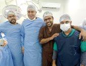 نجاح تركيب فلتر بالوريد الأجوف لمريضة بمستشفى السنبلاوين