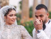 """أفشة يرفض استخدام """"القاضية ممكن"""" فى حفل زفافه ويعلق: عيب.. فيديو"""