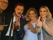 """يسرا وهند صبرى وباسل خياط يرقصون على """"إنساى"""" فى افتتاح مهرجان الجونة.. صور"""