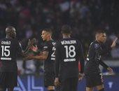 مبابى يقود باريس سان جيرمان لفوز مثير على أنجيه فى الدورى الفرنسى