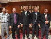 وفد من وزارة الزراعة يلتقي رئيس جامعة الأقصر لبحث التعاون المشترك