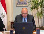 نيابةً عن رئيس الجمهورية.. شكرى يشارك فى الاجتماع التنسيقى للاتحاد الأفريقى