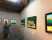 الفن التشكيلى يكشف عن وجه سيناء فى الماضى والحاضر ضمن فعاليات معرض الكتاب بالعريش