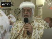 البابا تواضروس الثانى يترأس صلوات القداس الإلهى لترقية كهنة بالإسكندرية