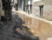 شكوى من غرق الصرف الصحى فى قرية نزلة خيال بالشرقية.. وشركة المياه ترد