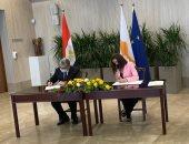 """""""الكهرباء"""" توقع مذكرة تفاهم للربط الكهربائى بين مصر وقبرص"""