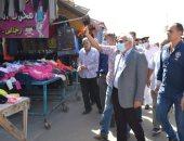 """محافظ بورسعيد يُمهل تجار """"البالة"""" حتى يناير القادم لإزالة السوق .. صور"""