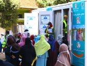 """حملة وزارة التضامن """"بالوعى"""" تجوب قرى بنى سويف لإنشاء مشروعات صغيرة للأسر"""