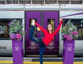 اليوجا رياضة المسافرين.. جلسات رياضية لركاب قطار هيثرو فى لندن