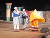 انطلاق مهرجان أسوان لتعامد الشمس على وجه رمسيس الثانى بعروض فنية.. فيديو وصور