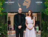 الصفحة الرسمية لدوق ودوقة كامبريدج تنشر الصورة الرسمية لهم فى حفل جوائز إيرث شوت