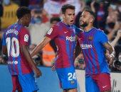 ملخص وأهداف مباراة برشلونة ضد فالنسيا فى الدوري الإسباني.. فيديو