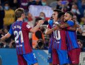 برشلونة يعود لطريق الانتصارات فى الدوري الإسباني على حساب فالنسيا