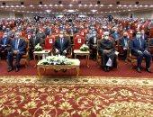 بدء احتفال وزارة الأوقاف بذكرى المولد النبوى بحضور الرئيس السيسي