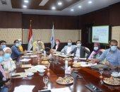 مسئولو هيئة المجتمعات العمرانية الجديدة يتابعون خطط عمل وحدة المدن المستدامة