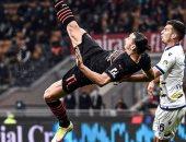 """إبراهيموفيتش يحتفى بالعودة للملاعب بصورة: """"أنت تمشى وأنا أطير"""""""