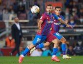 أجويرو يسجل ظهوره الرسمى الأول مع برشلونة ضد فالنسيا بالدوري الإسباني