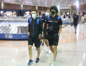 صور.. وصول بعثة المصري إلى مطار القاهرة قادمة من أوغندا