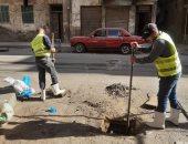 محاكاة على الطبيعة فى شوارع وأنفاق الأحياء بالإسكندرية لتلافى تراكم الأمطار