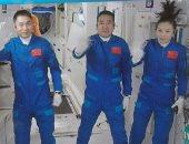 رواد المحطة المدارية الصينية الجدد يباشرون عملهم في الفضاء.. اعرف التفاصيل