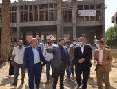 """نائب محافظ بني سويف يتابع سير العمل في مشروعات """"حياة كريمة"""""""