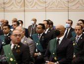 بدء توافد قضاة مصر على مقر احتفالية وزارة العدل