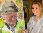 طفلة بريطانية تتحول إلى فنانة عالمية برسومات طبيعية والسبب كورونا .. صور