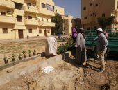 رئيس مدينة الأقصر يتفقد شوارع المدينة ويوجه بتكثيف أعمال النظافة.. صور