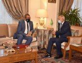 أبو الغيط يشيد بالعلاقات الممتدة بين الجامعة العربية وبريطانيا