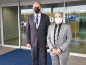 """وزير الدولة للإنتاج الحربى يصل إلى كوريا الجنوبية للمشاركة بمعرض """"ADEX 2021"""""""