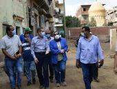 """محافظ الغربية يتفقد مشروعات """"حياة كريمة """" بـ12 قرية فى زفتى"""