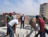 محافظ أسيوط : تكثيف حملات إزالة مخالفات البناء بالمراكز والأحياء