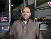 سوق العبور فاضي بسبب المولد.. الناس سابت الفاكهة ومركزة في الحلاوة (فيديو)
