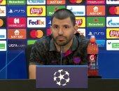 أجويرو: واثقون من الفوز على كييف ورفضت القميص رقم 10 فى برشلونة
