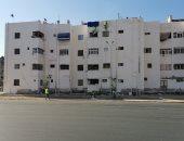 مشهد حضارى فى المدينة الباسلة.. توحيد دهان عمارات حى المناخ ببورسعيد.. فيديو