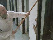أوقاف الإسماعيلية: أعمال نظافة قبل فتح دورات المياه بالمساجد.. صور